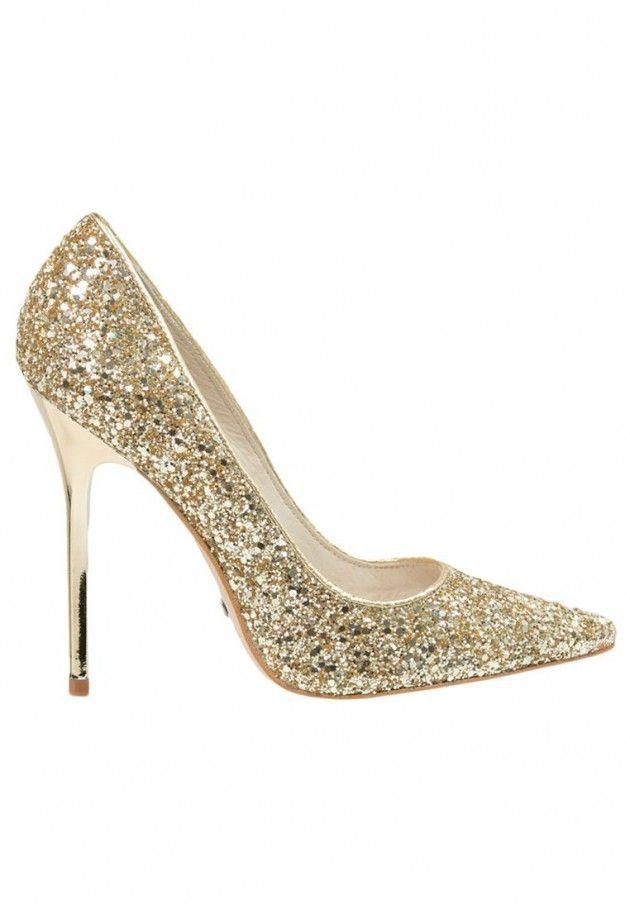 Heels + sparkle = perfection