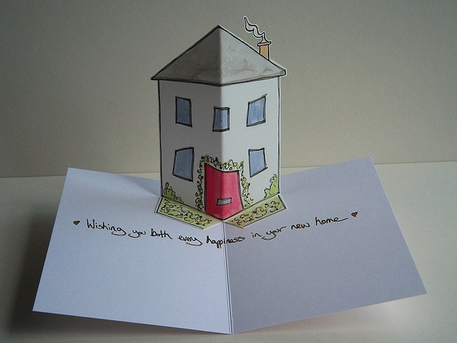 New Home (Pop-Up Drawing)