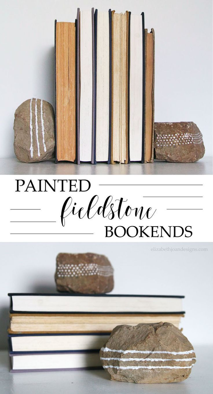 fieldstone bookends a great 5 minute craft to repurpose fieldstone rocks learn how to - Reuse Repurpose