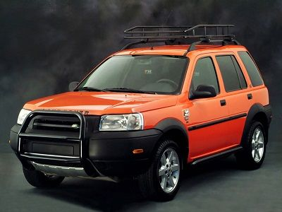 Land Rover Freelander G4 Edition (2002).