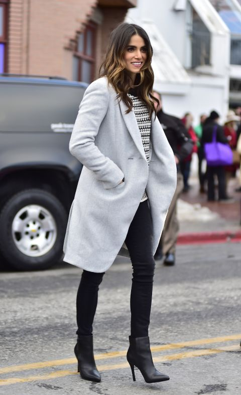 Nikki Reed in Park City, Utah - Winter Celebrity Fashion - Elle