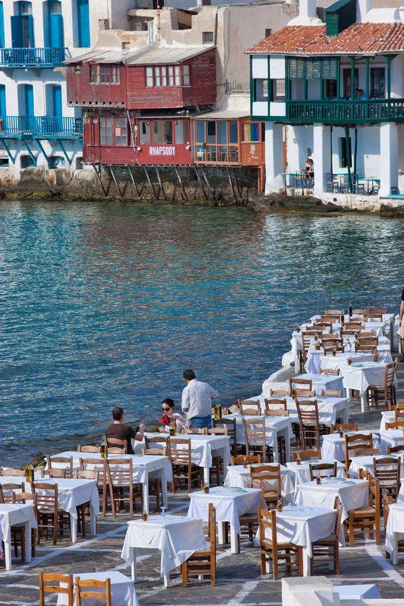 Dining in Mykonos