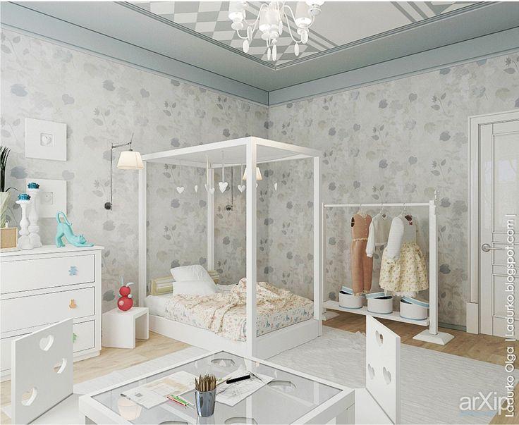 Детская для Марии: интерьер, квартира, дом, эклектика, детская комната, 20 - 30 м2 #interiordesign #apartment #house #eclectic #nursery #20_30m2