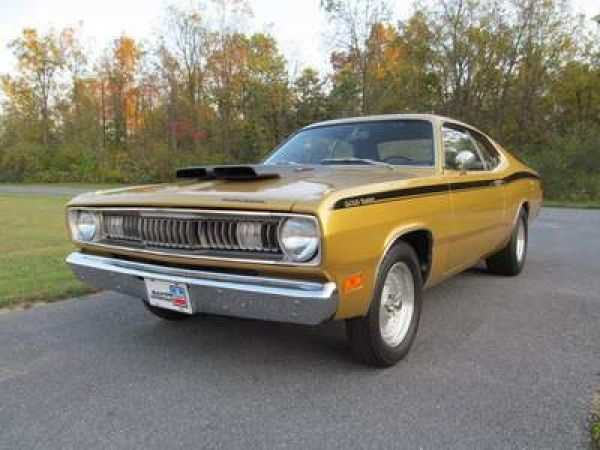 1971 Plymouth Duster 340 4spd