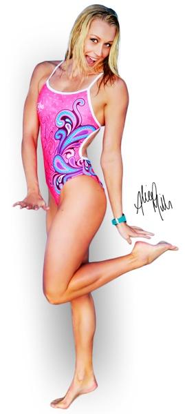 Alice Tait (nee Mills) - Australian Olympic Swimming Champion & Zealous Brand Ambassadors #celebgenie