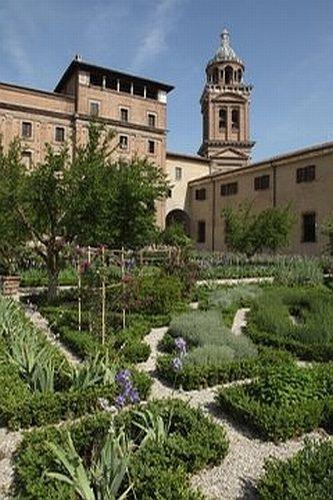 I giardini di Palazzo Ducale,Mantova, Lombardia:
