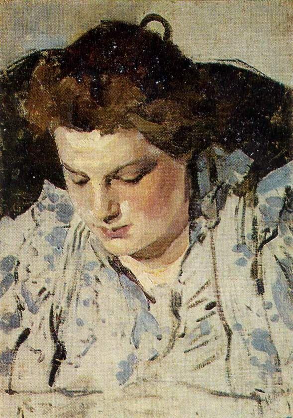 Портрет М.К.Головиной, жены художника