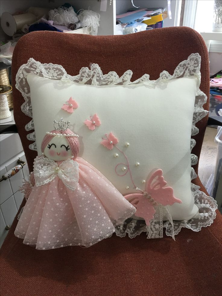 Make ring bearer pillows