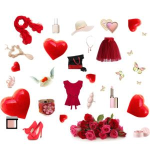 """Romantic Message"" by annawirejewelry on Polyvore"