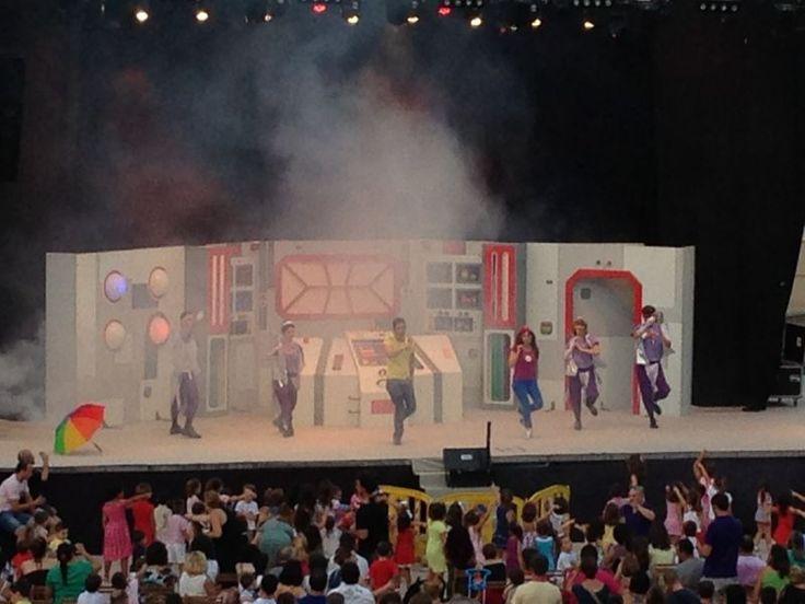 Espectáculo de los Lunnis en la plaza de Toros de Benidorm