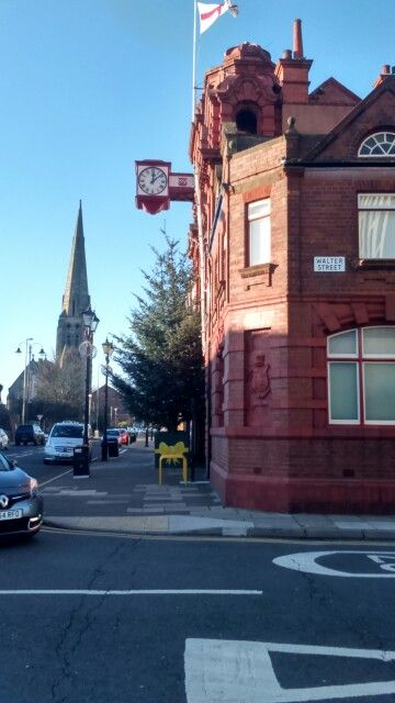 Town Hall and clock in Jarrow