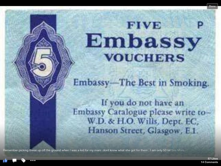There always seemed to be a few of these floating around even though no one smoked Embassy, weird.