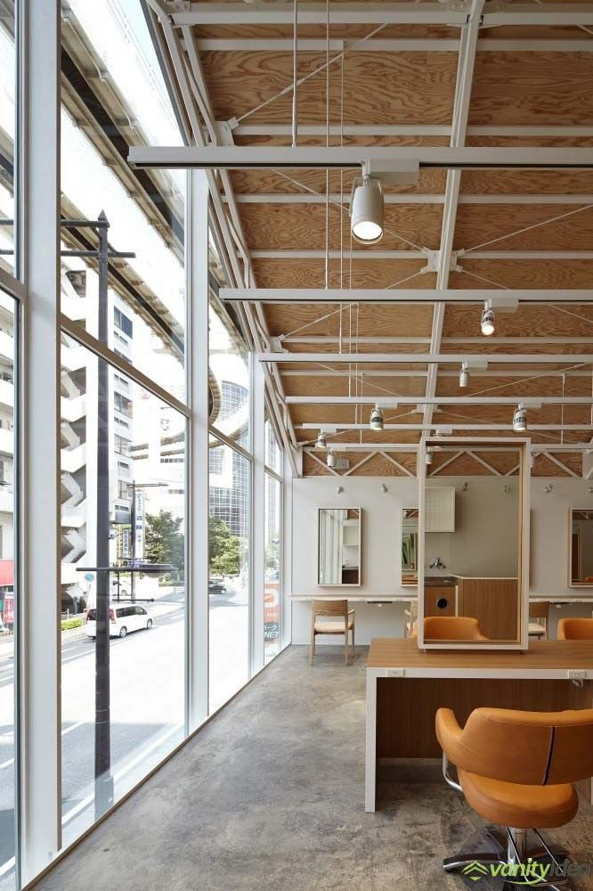 12 best Hair Salon with TriangleShaped Roof in Japan by Ryo