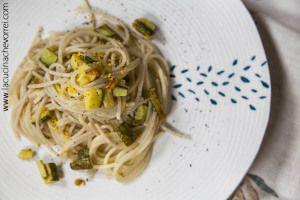 Spaghetti zucchine e limone