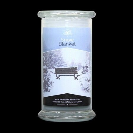 Feel the enchantment of a first winter's snow! Top notes of Argentine lemon and sweet coconut milk lead into middle tones of snowdrop flowers, fragrant patchouli and aromatic sandalwood. Vanilla, amber and musk subtly finish off this cool scent. Experience the serenity of this winter wonderland; no need for coats and sleds! Natural soy Snow Blanket scented candles and tarts. - See more at: https://www.jewelryincandles.com/store/dazzlingscentsations