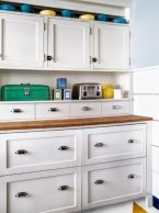 Disguised Refrigerator and Freezer Drawers