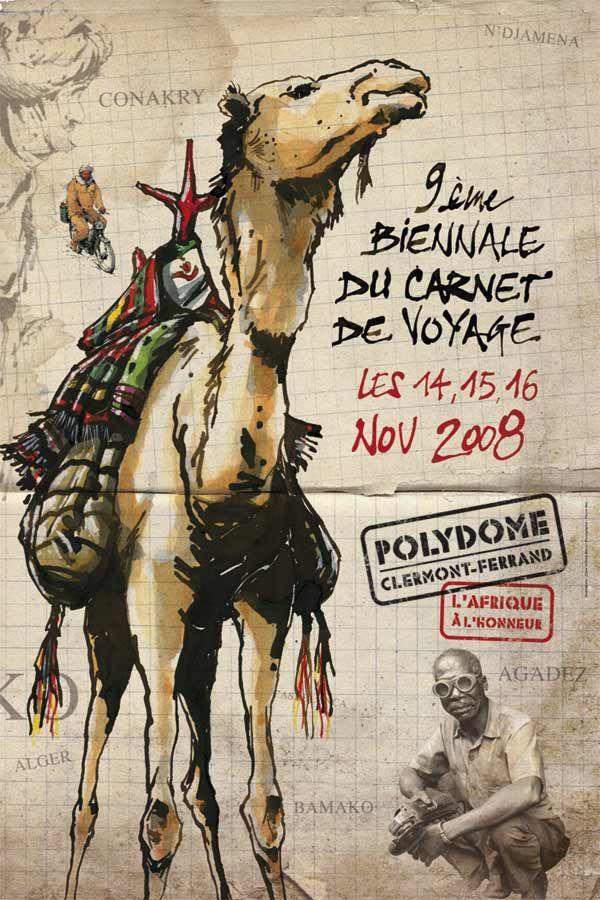 9e rendez-vous du carnet de Clermont-Ferrand, 2008 - Graphisme et illustrations