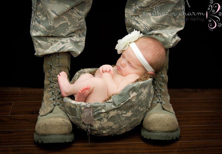 Military newborn photography www southcharmphoto com