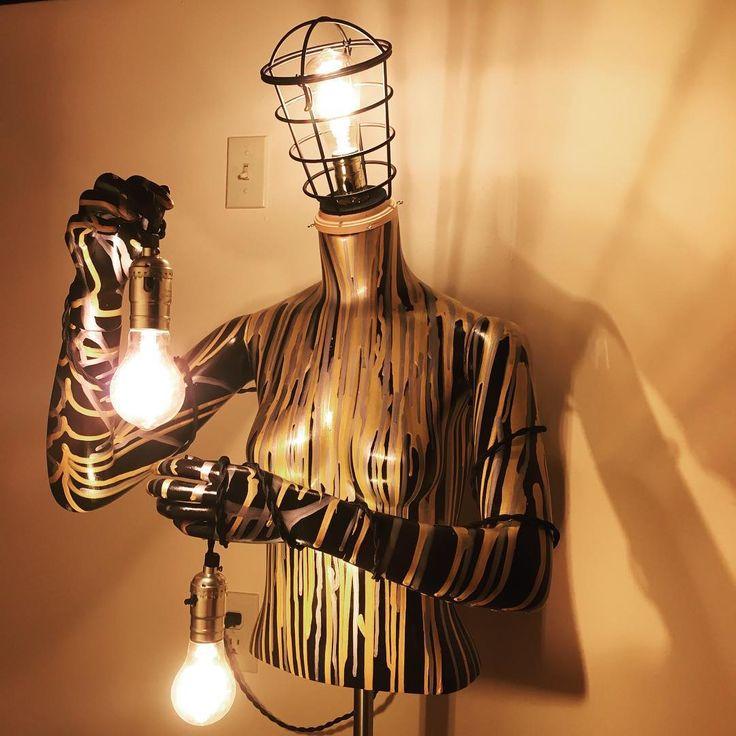 Mannequin Lamp 62 best mannequin lamps images on pinterest | mannequin art, om