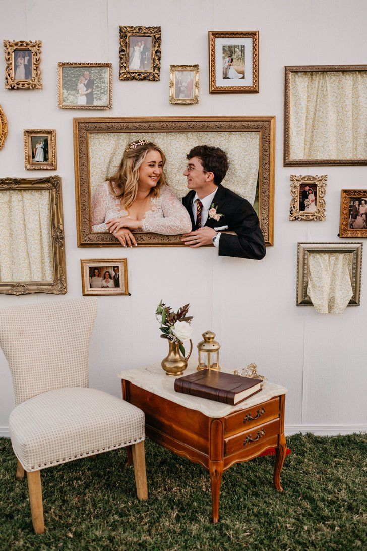 These 2 Got Engaged on the Hogwarts Express and Had a Backyard Harry Potter Wedding