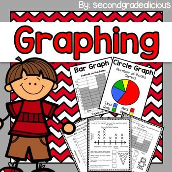 This graphing pack is great for second grade but will work for first or third grade depending on the level of your students.Included in this graphing pack:Learning Carpet Graphing ActivityTally WorksheetUsing Tally Marks to fill out a graph worksheetCount the Shapes and Make Tally Marks and Complete the PictographCount the Fruit and Make Tally Marks, then Complete the Bar GraphCreate Your Survey Questions - WorksheetCreate a Graph (survey question, take a tally, create the graph)Answer the…