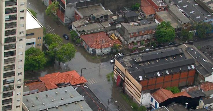 Chuva em SP causa alagamentos, afeta trens e fecha aeroporto  http://w500.blogspot.com.br/