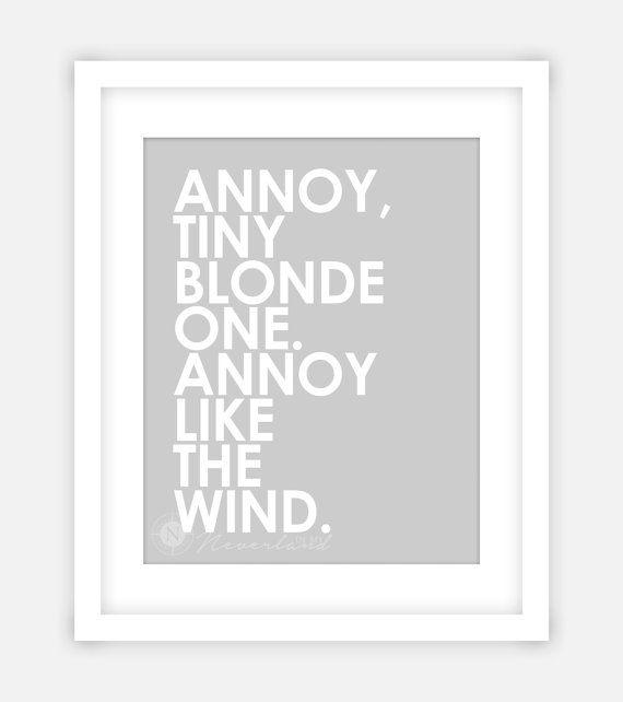 Annoy Tiny Blonde One, Annoy Like The Wind. - Logan Echolls (Veronica Mars) ______________________________________________________________ ║