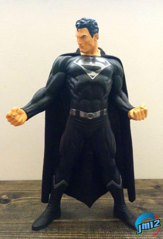 Superman Black Suit (Superman) Custom Action Figure