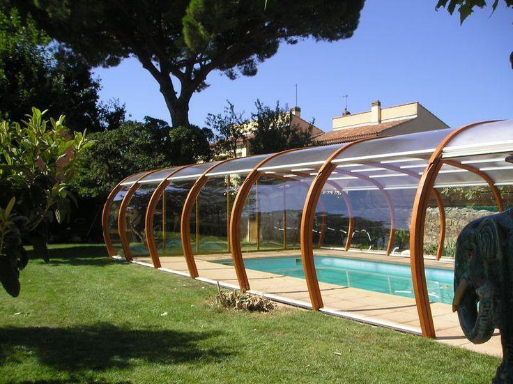 Les 12 meilleures images du tableau abris piscine sur for Piscine clermont