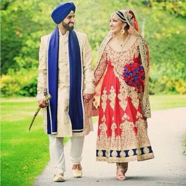 Our Bride Simran In Her Wedding Anarkali