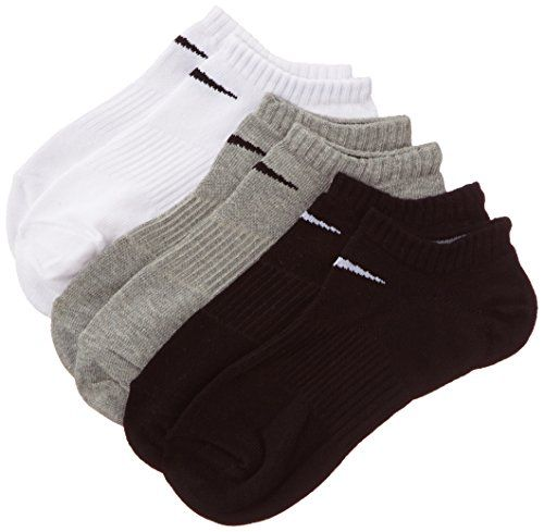 NIKE Socks 3 Pairs Lightweight No Show Black Gry Heath/Bk... https://www.amazon.co.uk/dp/B00AV5VG20/ref=cm_sw_r_pi_dp_VRCAxbXSY7CBZ