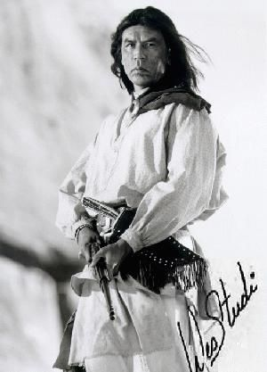 Geronimo (Wes Studi)  Cherokee actor that I love
