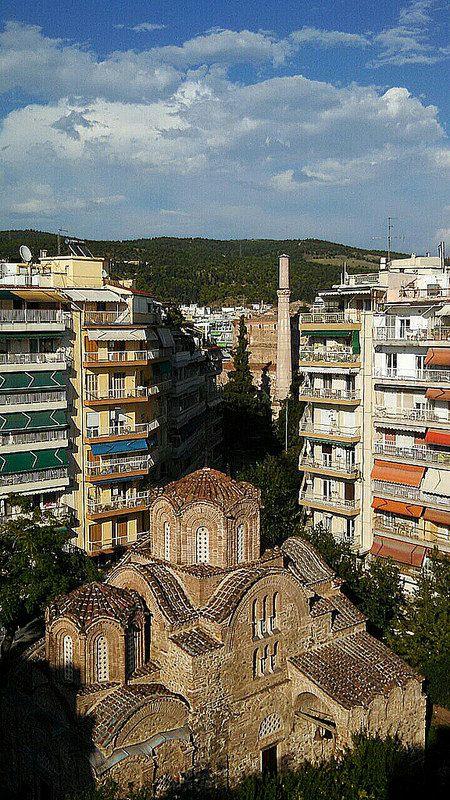 Saint Panteleimon Church, 14th century AD, Thessaloniki, Greece