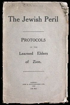 Protocols of the Elders of Zion  Anonymous - Another 10 Books That Changed The World