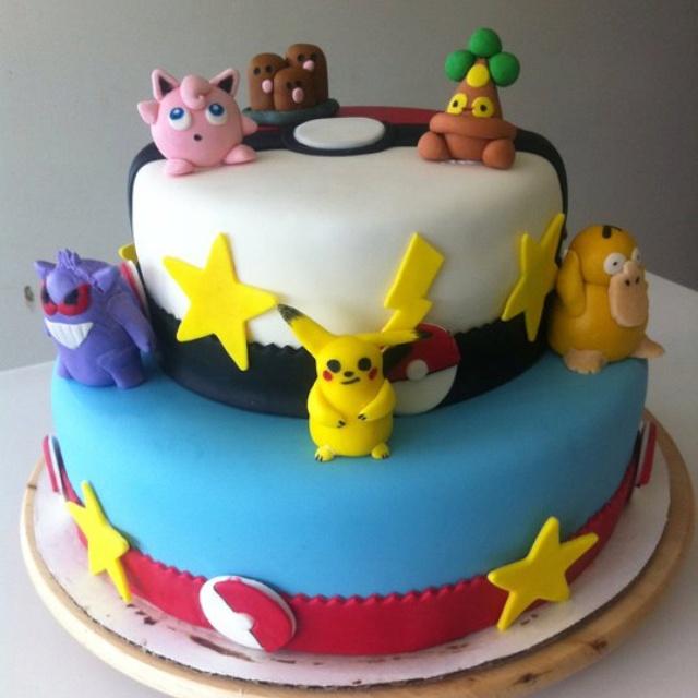 pokemon cake cakes pinterest pokemon and cakes. Black Bedroom Furniture Sets. Home Design Ideas