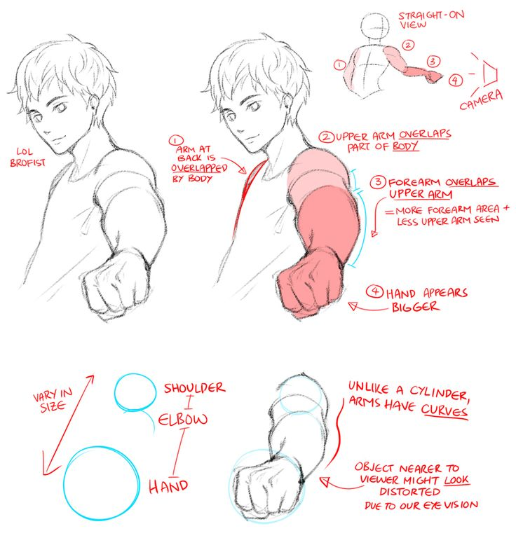 "World Manga Academy — What is ""foreshortening""? Well. in a nutshell, it..."