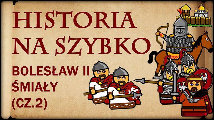 Historia Na Szybko - Bolesław II Śmiały cz.2 (Historia Polski #12) (1062...