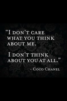 - Coco Chanel Cool