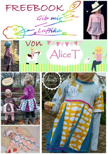 15 besten Kinder Tunika Longshirt Schnittmuster Freebooks Bilder auf ...