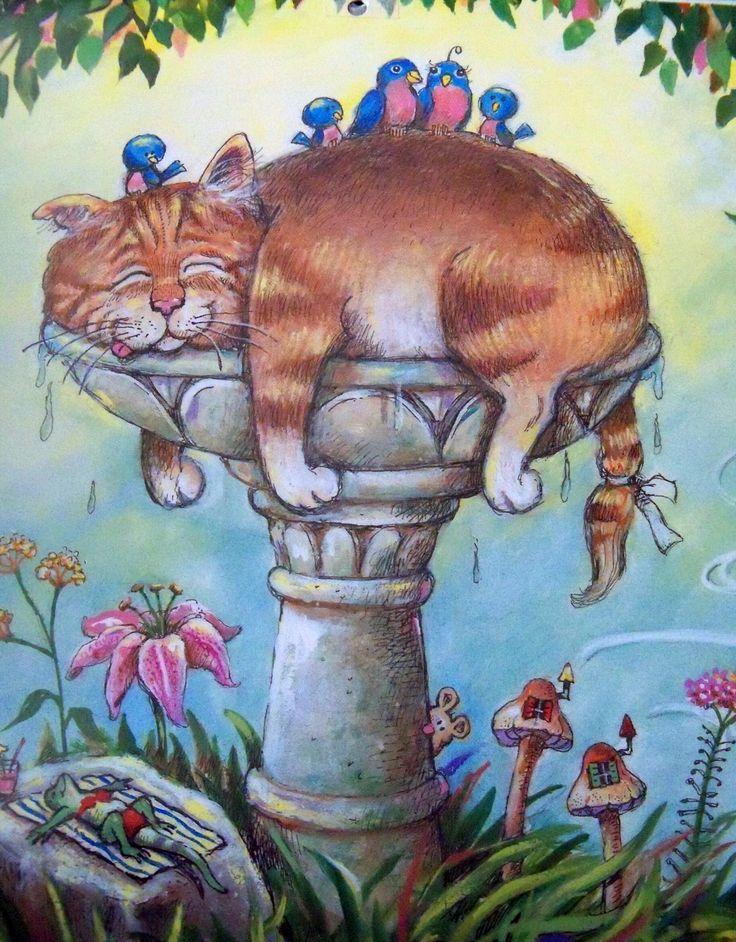 Birdbath Spa - Gary Patterson