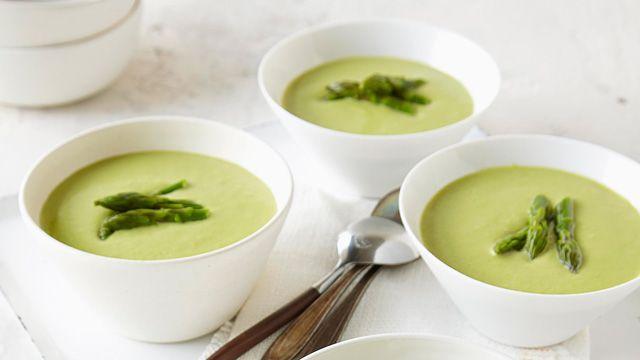 Soupe crémeuse aux asperges   Recette, idées-repas, dîner, souper - cuisine   Kraft - quest-ce qui mijote