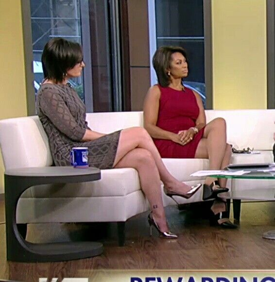 Kennedy And Harris Faulkner On Outnumbered Sexy Crossed
