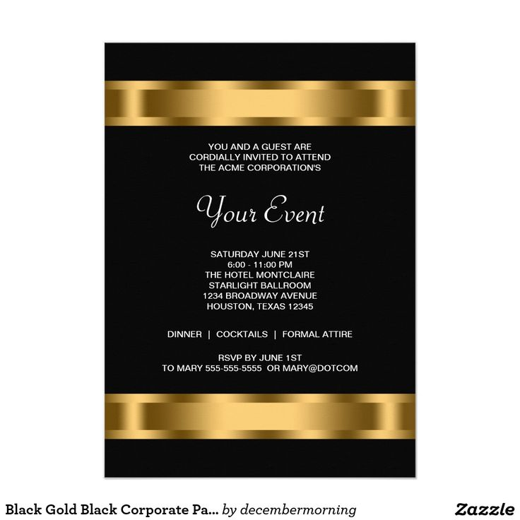67 best Corporate Party Invitations images – Holiday Office Party Invitation Templates