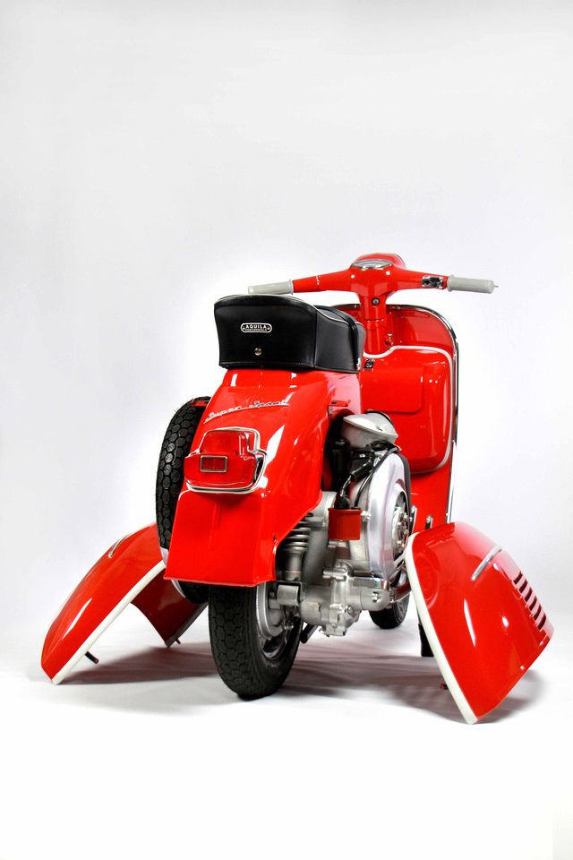 Best Vespa SS180 i've ever seen. I love RED. See more perfect scooter from Green Tree Scooters