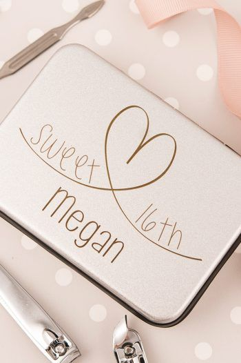 Personalised Luxury Manicure Set Sweet 16th 220x330 Sweet 16th birthday Gift Ideas