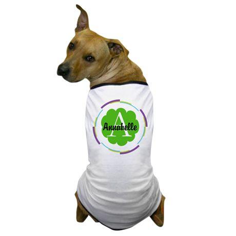 Personalized Monogram Gift Dog T-Shirt on CafePress.com