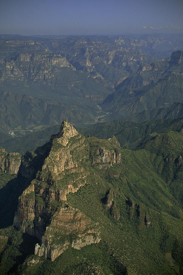 ✮ An Aerial View Of Mexicos Copper Canyon