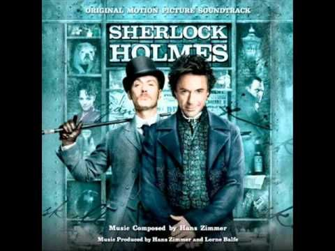 Hans Zimmer used a banjo, cimbalon, squeaky violins, and a broken piano to create the score for Sherlock Holmes. Awesome