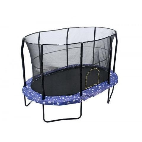 8x12 Oval Trampoline with Enclosure - American Stars. Shop now - FREE Shipping! #trampoline
