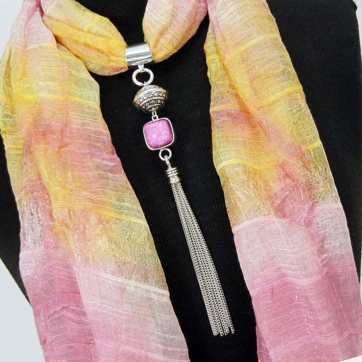 Scarf Jewelry Tutorials and Inspirations - The Beading Gem's Journal